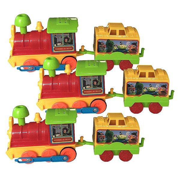 Kit Trenzinho à Pilha Toy Story 3 Unidades - Toyng