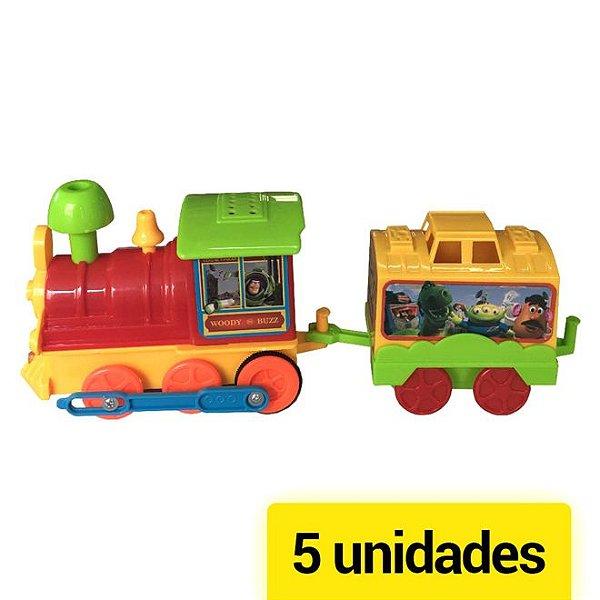 Kit Trenzinho à Pilha Toy Story 5 Unidades - Toyng