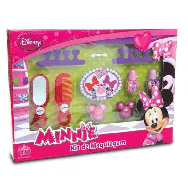 Caixa Maquiagens Minnie - Beauty Brinq