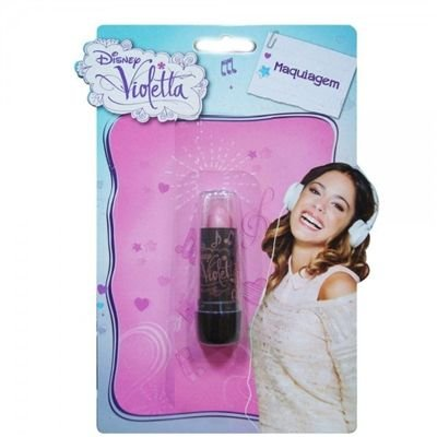Batom Violetta Rosa Cor V03 - Beauty Brinq