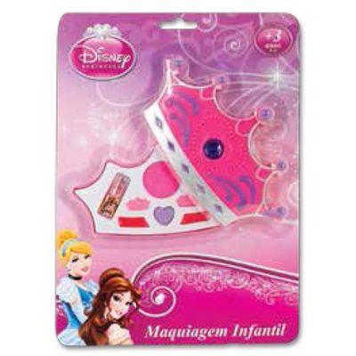 Estojo De Maquiagem Coroa Princesas - Beauty Brinq