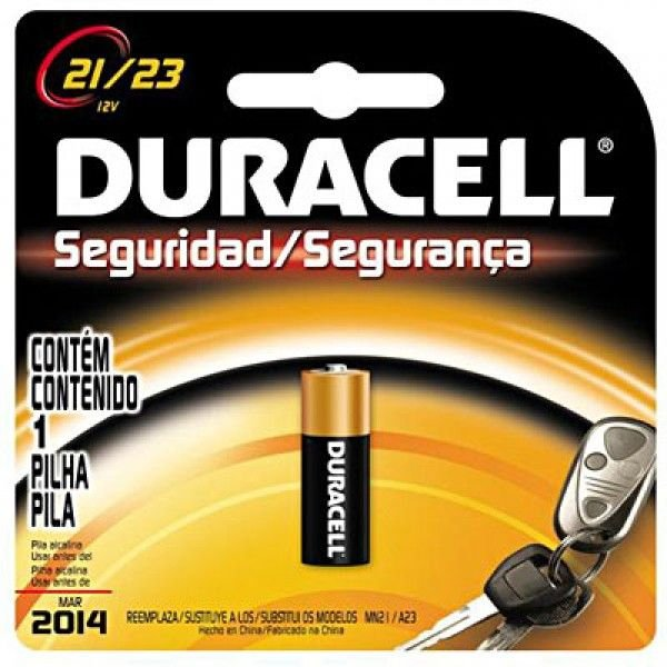 Pilha Alcalina MN21-B 12V - Duracell