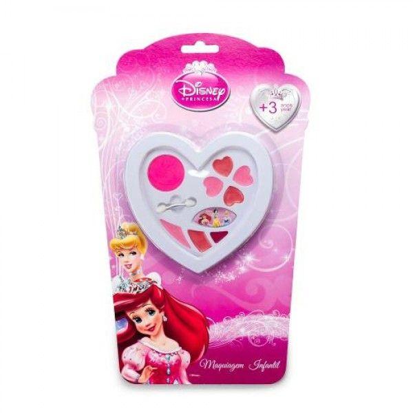 Estojo Coração Princesas - Beauty Brinq - Toyng