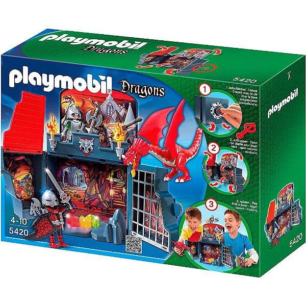 Playmobil Calabouço do Dragão Game Box - Sunny Brinquedos
