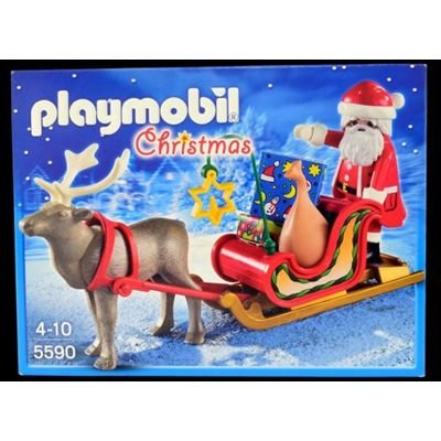 Playmobil Treno do Papai Noel - Sunny Brinquedos