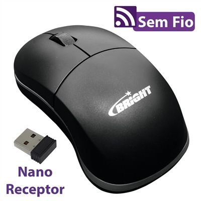 Mouse Sem fio Suiça 0205 - Bright