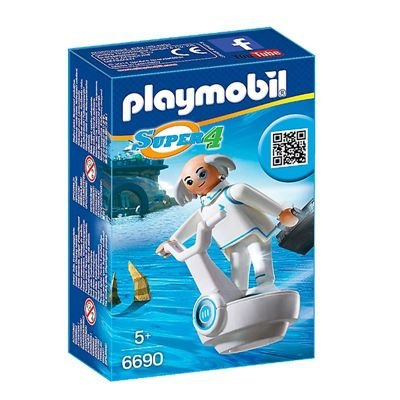 Playmobil Super 4 Dr.X - Sunny Brinquedos
