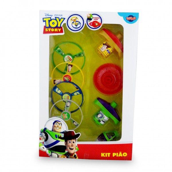 Kit Pião com Luz Toy Story - Toyng