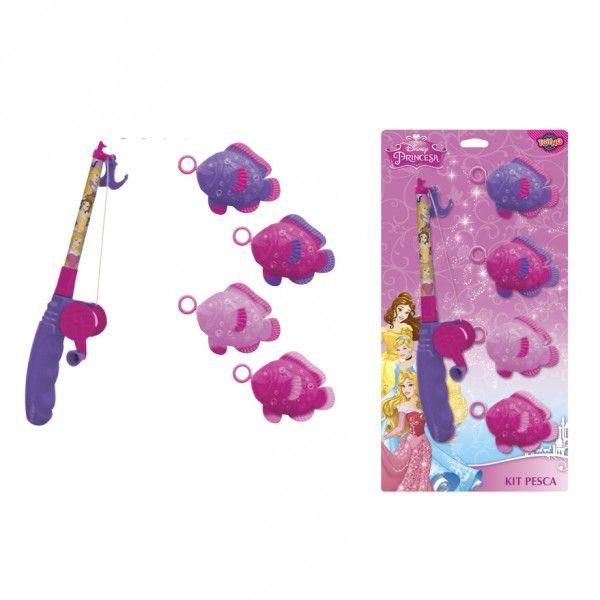 Jogo de Pesca com Varinha Princesas - Toyng