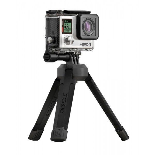 Tripé compacto dobrável para GoPro e câmeras convencionais - GPBAS-15 - GoPole