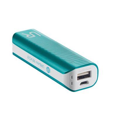 Carregador Portátil USB Power Bank 2200mAh Azul e Branco 20069 - Trust