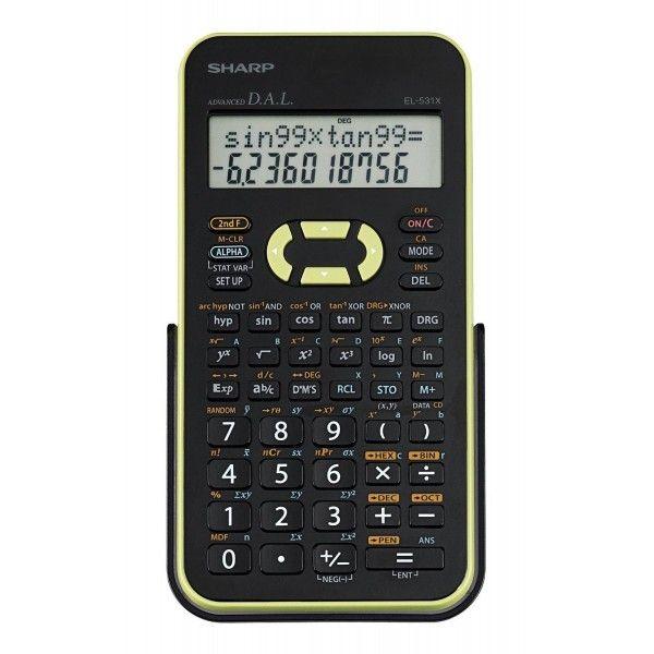 Calculadora científica de 10 dígitos com 272 funções - EL531XBGR - Sharp