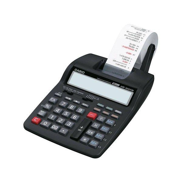 Calculadora com impressora 2,0 linhas / seg, 12 dígitos e bobina de 58mm - HR-100TM - Casio