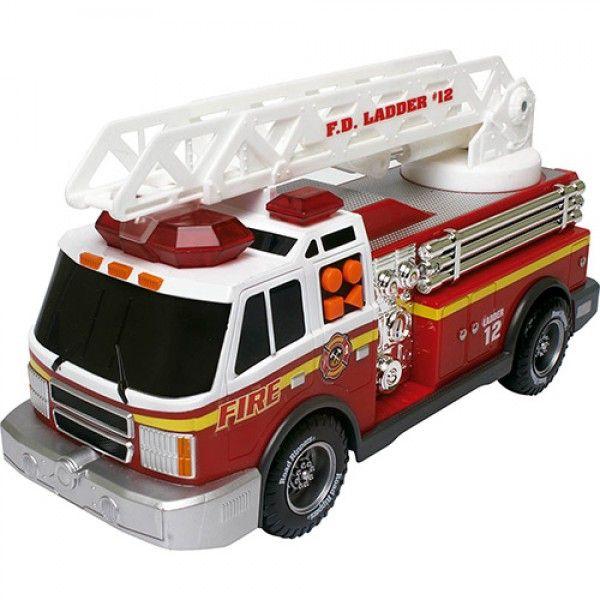 """Caminhão de Bombeiro 12"""" Rush & Rescue - DTC"""