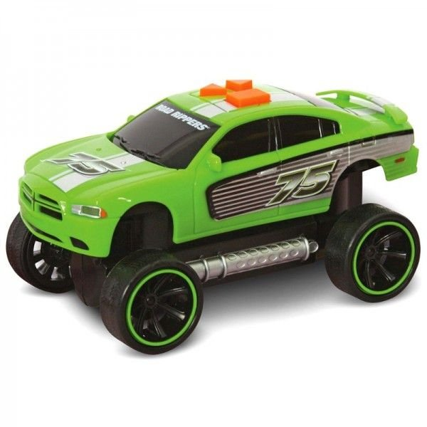 Carrinho Road Rippers - It Comes Back - Dodge Charger - Verde - DTC