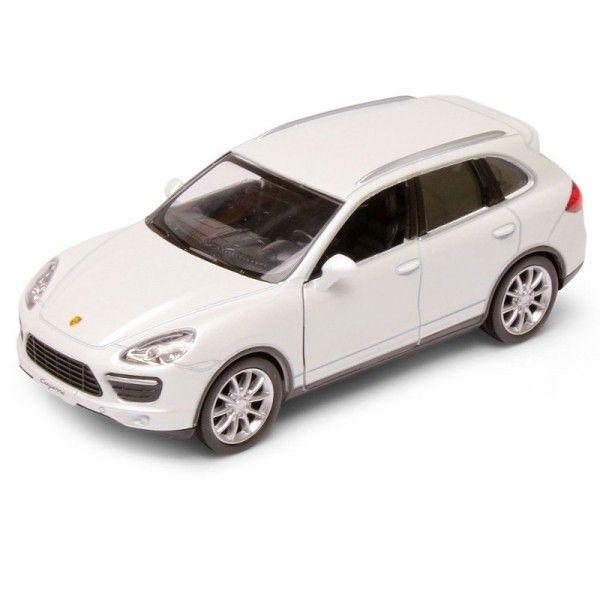 Carrinho Super Marcas Porsche Cayenne Branco - DTC