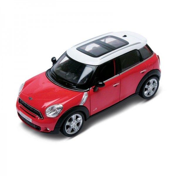 Carrinho Super Marcas Mini Cooper Countryman Vermelho escala 1/32 - DTC