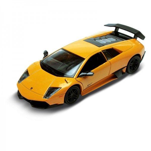 Carrinho Super Marcas Lamborghini Murcielago LP 670-4 SV Laranja - DTC