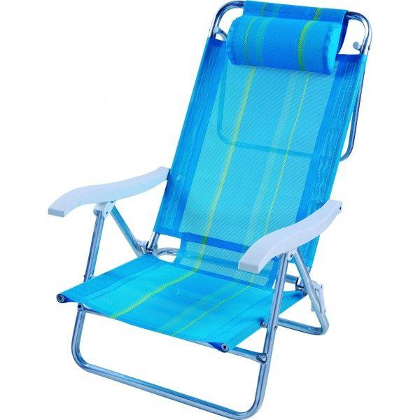 Cadeira Sol de Verão Boreal Azul - Mor