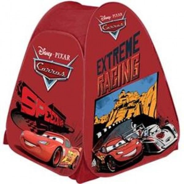 Barraca Portátil Carros Zippy Toys GFA010B - Vermelho