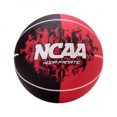 Bola de Basquete Wilson NCAA Hoop Fanatic Tam 7 Vermelho e Preto