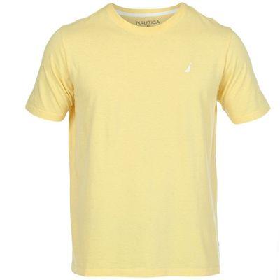 Camiseta Nautica Masculino Amarela