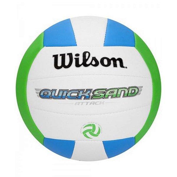 Bola de Vôlei Wilson Quicksand ATTACK Azul e Verde