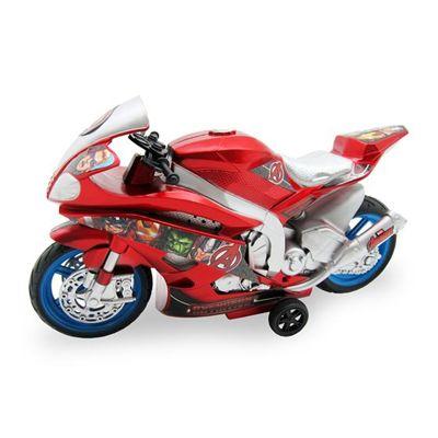 Moto Fricção com Luz e Som Vingadores - Toyng