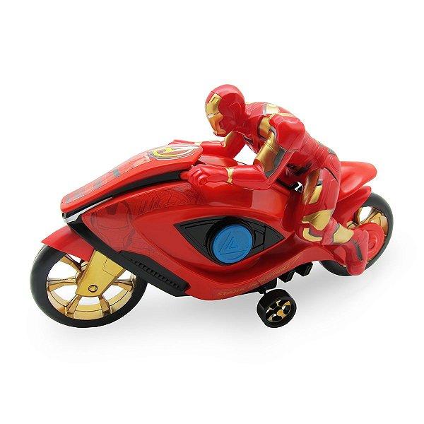 Moto Fricção Homem de Ferro Vingadores - Toyng