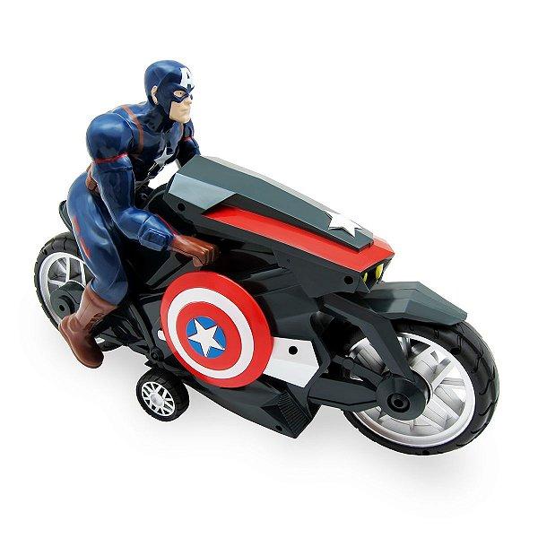 Moto Fricção Capitão America Vingadores - Toyng