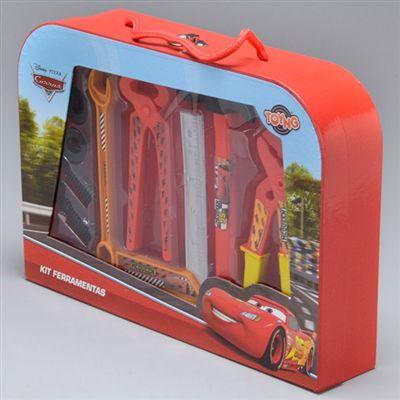 Kit Ferramentas Carros Infantil - Toyng