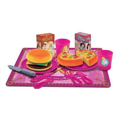 Kit Comidinhas Vamos Lanchar com Velcro Princesas - Toyng