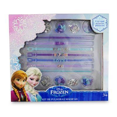 Kit de Pulseiras Mágicas Frozen - Toyng