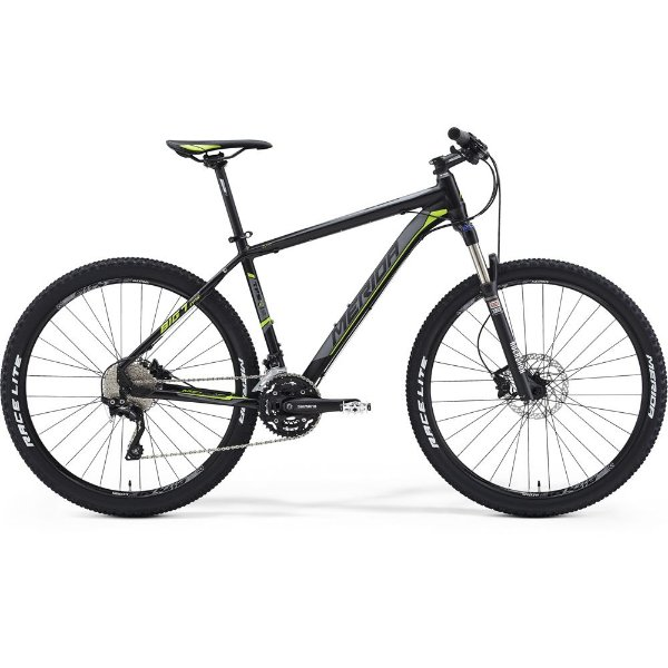 Bicicleta Merida Big Seven 500 Aro 27,5 Tamanho 17 - Preta e Verde