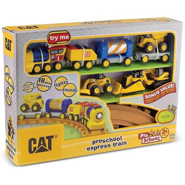 Cat Preschool Express Train - DTC