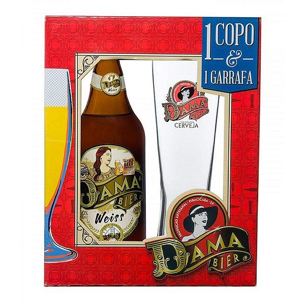 Kit Cerveja Dama Bier Weiss + Copo Exclusivo