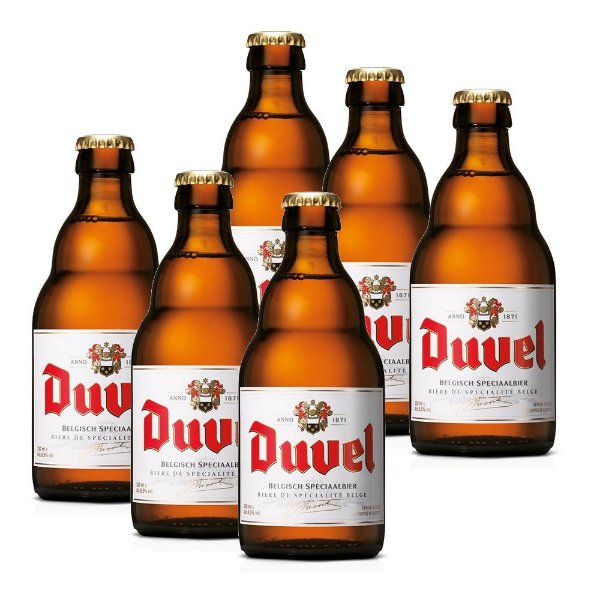 kit Com 6 Cervejas Duvel 330ml