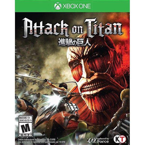 Jogo Attack on Titan para Xbox One (XOne) Koei Tecmo