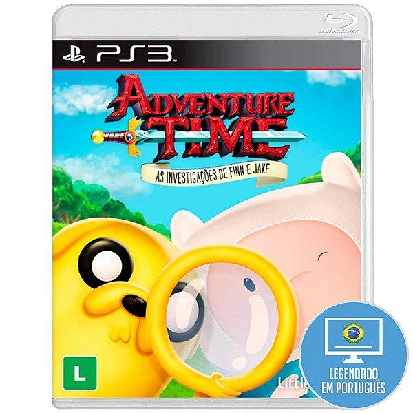 Jogo Adventure Time: As investigações de Finn e Jake para Playstation 3 (PS3) - Little Orbit