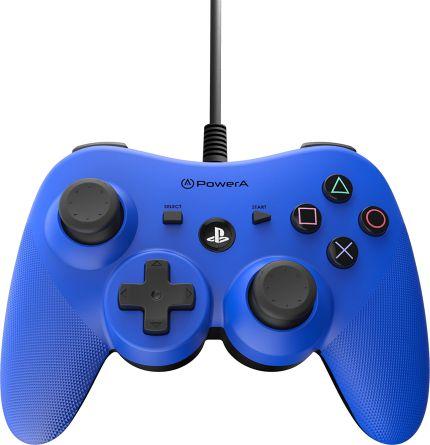 Controle com fio para PS3 Azul (Packing) - Power A