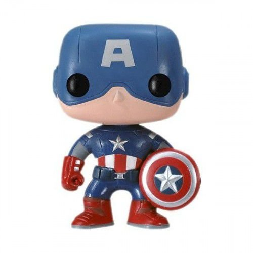 POP! Marvel: Capitão América 3 - Capitão América - Funko