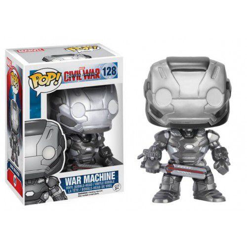 POP! Marvel: Capitão América 3 - Máquina de Combate - Funko