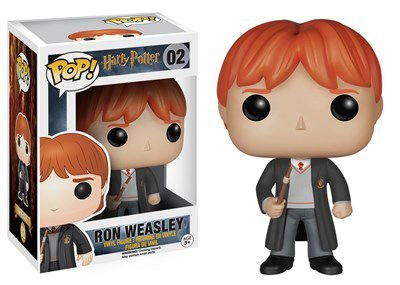POP! Filmes: Harry Potter - Ron Weasley - Funko