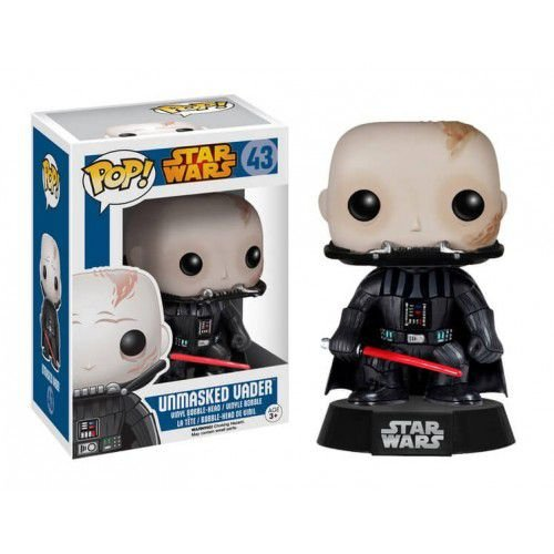 POP! Star Wars: Unmasked Darth Vader - Funko