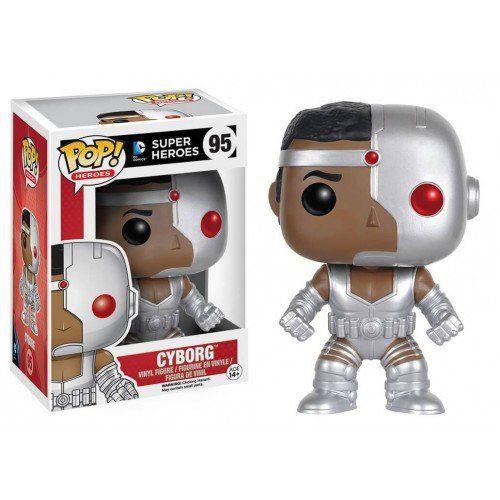 POP! Heróis: Cyborg - Funko
