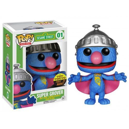 POP! Vila Sésamo: Super Grover - Funko