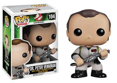 POP! Filmes: Caça-Fantasmos: Dr. Peter Venkman - Funko