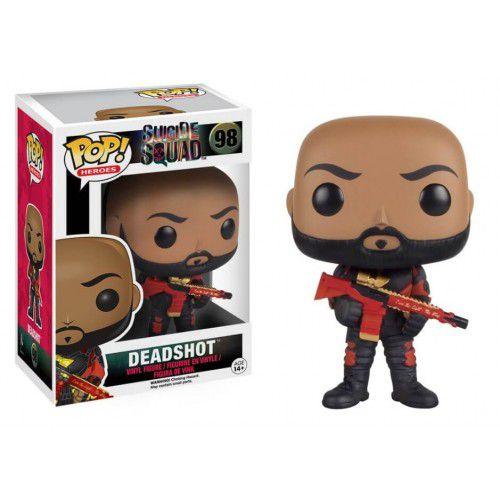 POP! Heróis: Esquadrão Suicida - Pistoleiro - Funko