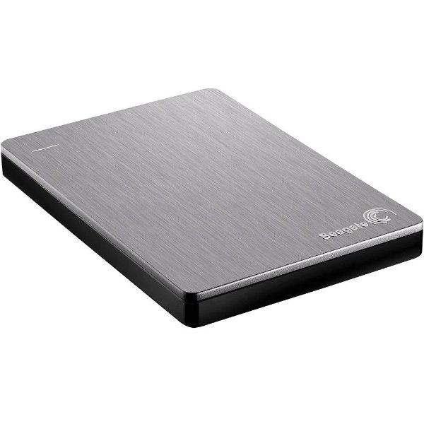 HD Seagate Externo Portátil Backup Plus Slim USB 3.0 1TB Prata - STDR1000101