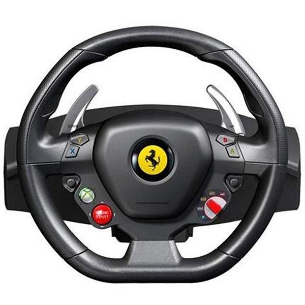 Volante para PC e Xbox Ferrari 458 Itália - Thrustmaster 4460094